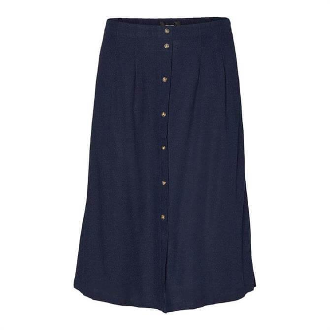 Vero Moda Astimilo Buttoned Midi Skirt