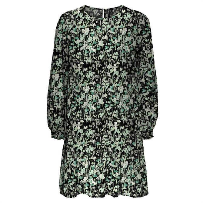 Vero Moda Chello Printed Flounce Hem Dress