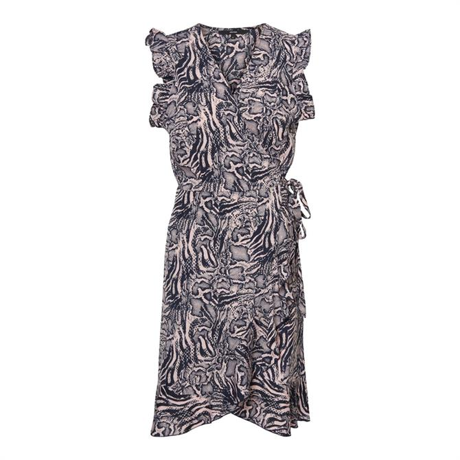 Vero Moda Dagmar Frill Wrap Mini Dress