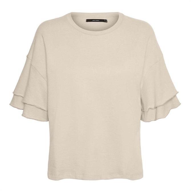 Vero Moda Gabbi Frill Sleeve Top