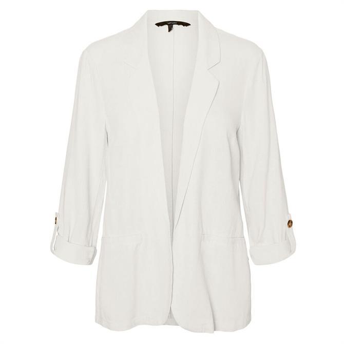 Vero Moda Helen Linen Blend Loose Blazer
