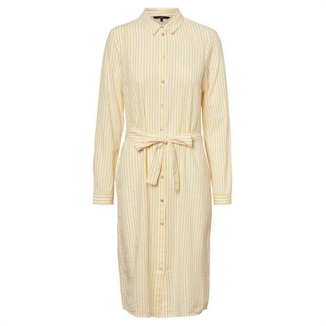 Vero Moda Heli Striped Shirt Dress