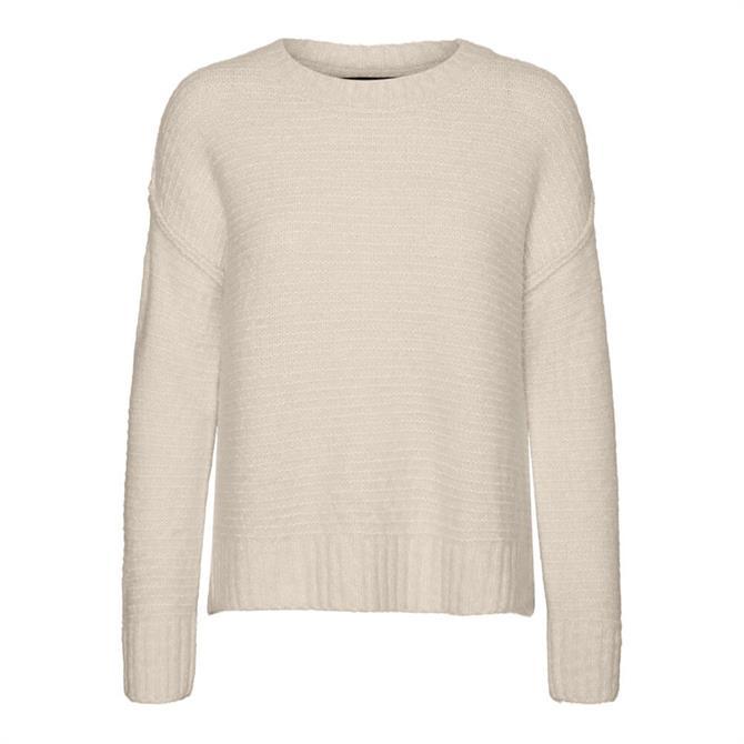 Vero Moda Jade Structured Knit Sweater