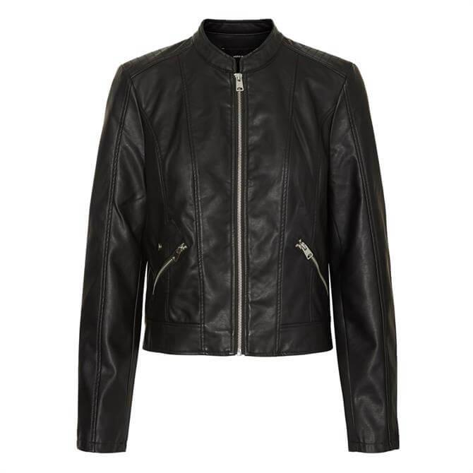 Vero Moda Khloe Favo Faux Leather Jacket