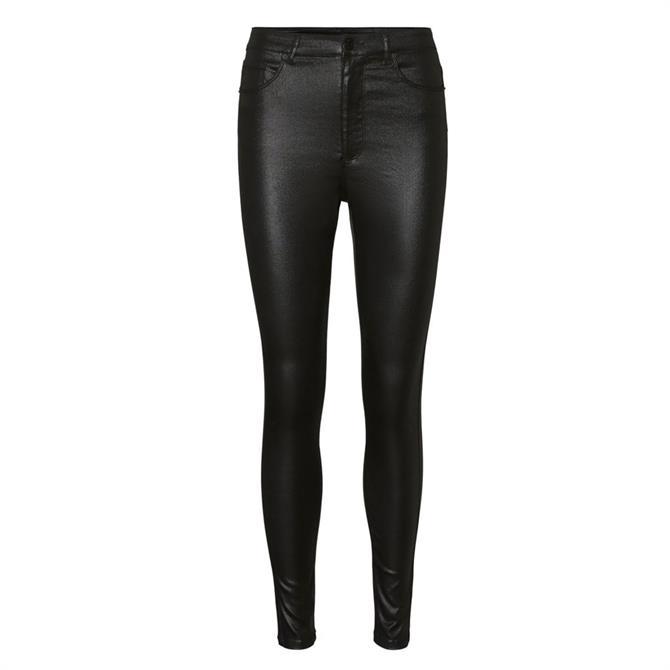 Vero Moda Loa Coated Skinny Fit Jeans