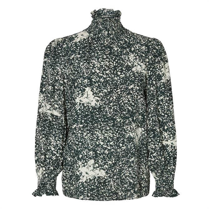 Vero Moda Madison Patterned High Neck Smock Top