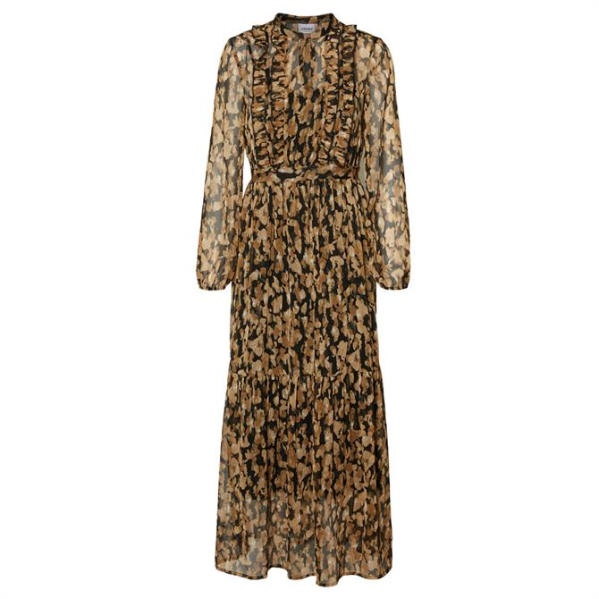 Vero Moda Mally Printed Maxi  Dress