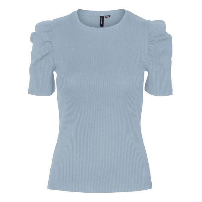 Vero Moda Polly Puff Sleeve Top