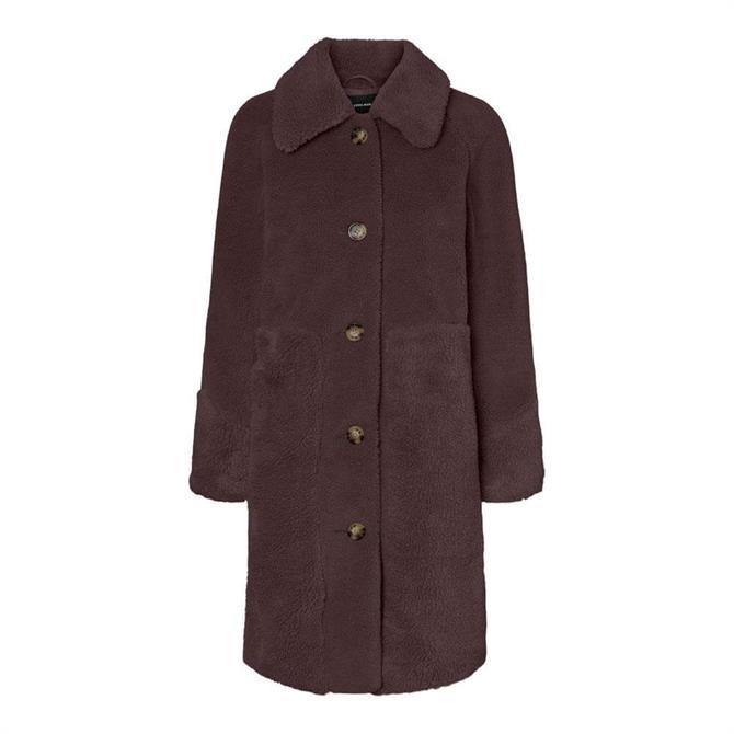 Vero Moda Ripley Teddy Bear Coat