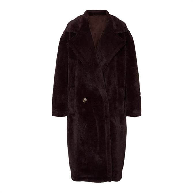 Vero Moda Safia Long Faux Fur Coat