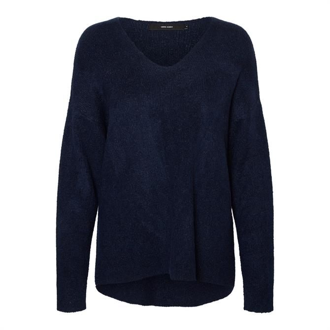 Vero Moda Soft V-Neck Knitted Pullover