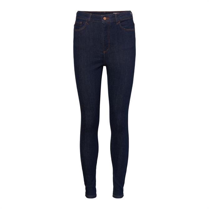 Vero Moda Sophia Dark Blue Denim Skinny Jeans