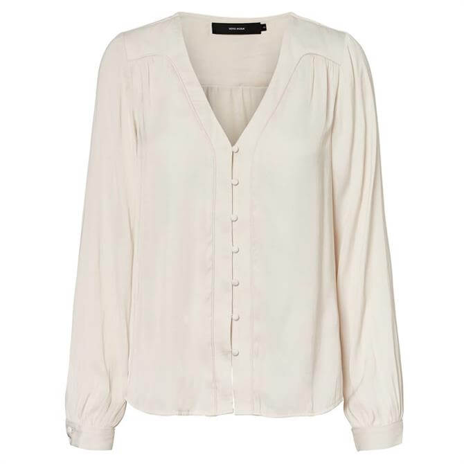 Vero Moda Tanja Buttoned Satin Shirt