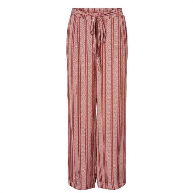 Vero Moda Junacoco Striped Loose Trousers