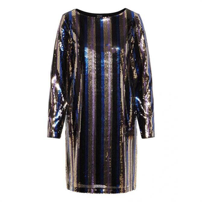 Vero Moda Dorris Sequin Shift Dress