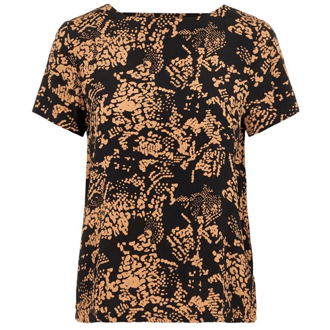 Vero Moda Prosecca Printed V-Back T-Shirt