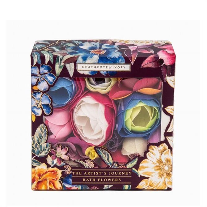 Heathcote & Ivory The Artist's Journey Bath Flowers