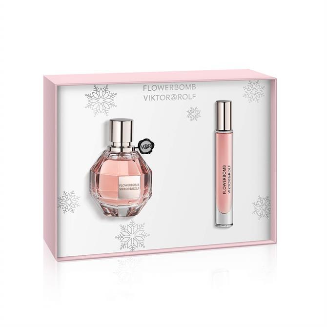 Viktor & Rolf Flowerbomb Eau de Parfum 50ml Premium Gift Set for Her + Mini Spray