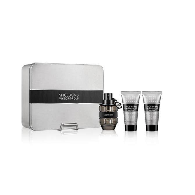 Viktor & Rolf Spicebomb Luxury Fragrance & Shaving Gift Set for Him