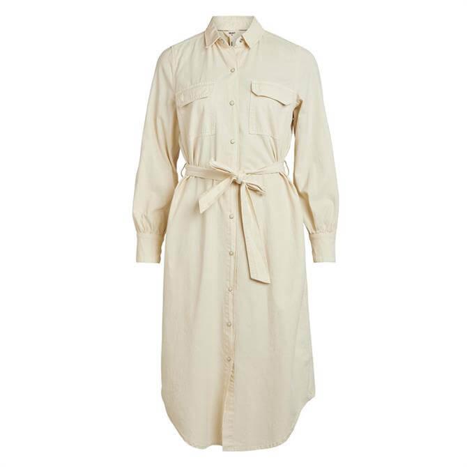 Object Clarize Denim Shirt Dress