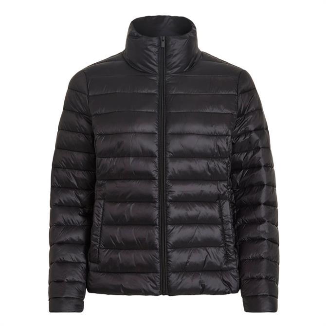 Vila Sibiria High Collar Short Quilted Coat