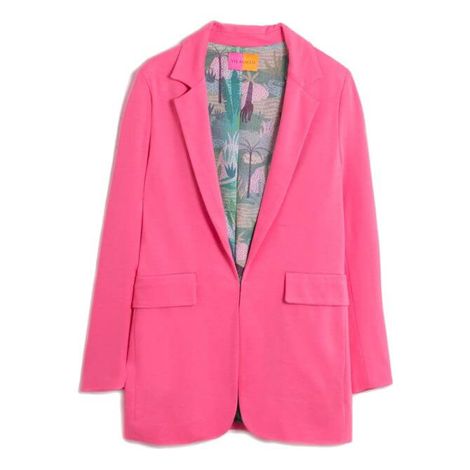 Vilagallo Antonet Pink Blazer Jacket
