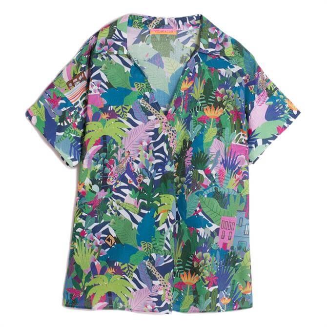 Vilagallo Chantal Pacuare Tropical Print Shirt