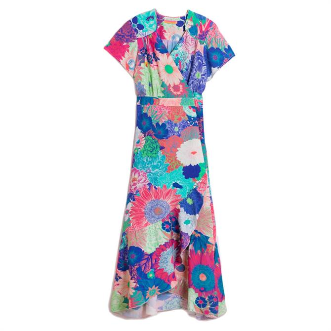 Vilagallo Myrna Villa Taranto Floral Dress