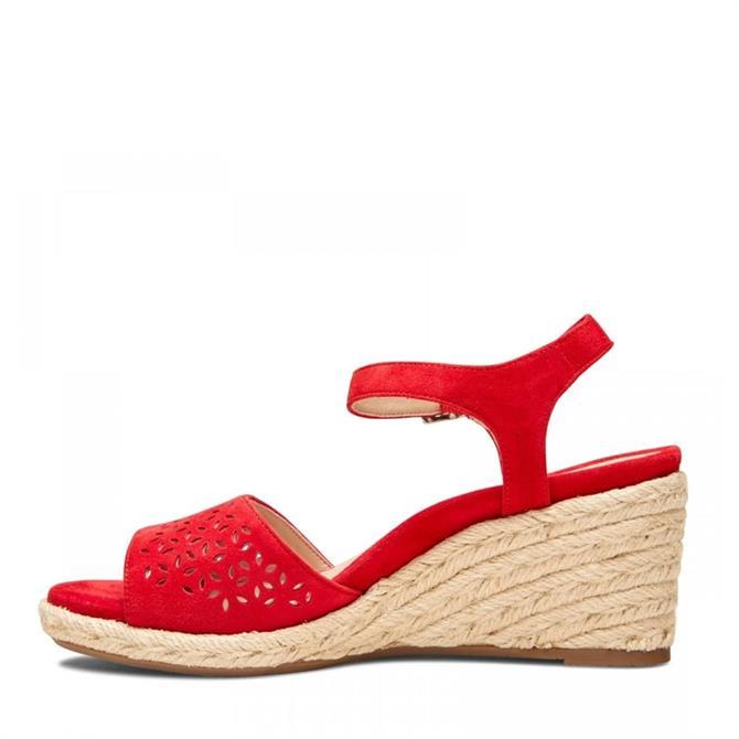 Vionic Ariel Wedge Suede Sandals