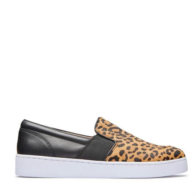 Vionic Demetra Slip on Trainers in Leopard