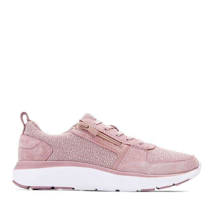 Vionic Remi Casual Trainer in Blush Pink