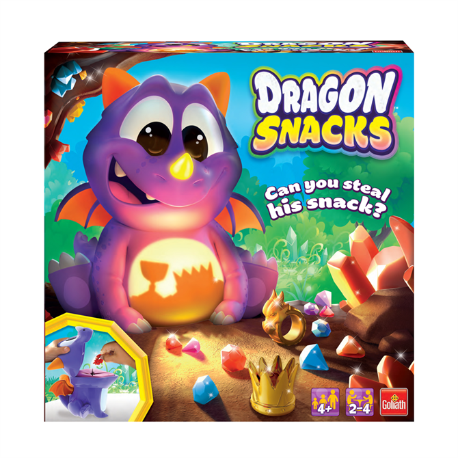 Vivid Dragon Snacks Game