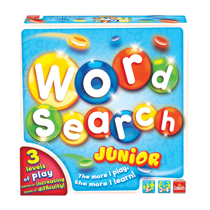 Vivid Word Search Junior Game