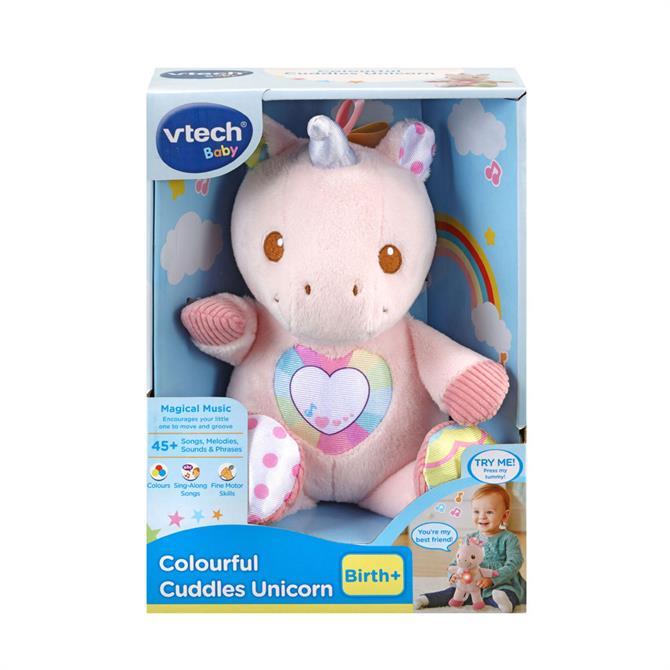 V-Tech Colourful Cuddles Unicorn