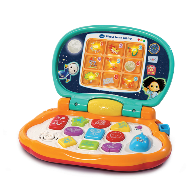 Vtech Moon and Me Play and Learn Laptop