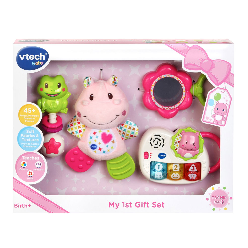 An image of Vtech My First Gift Set Pink