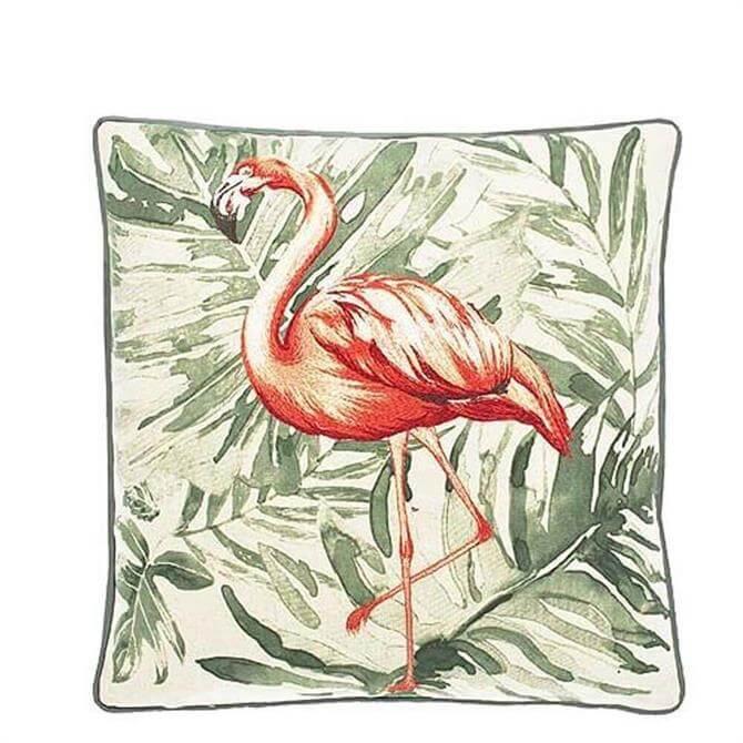 Walton & Co Flamingo Cushion