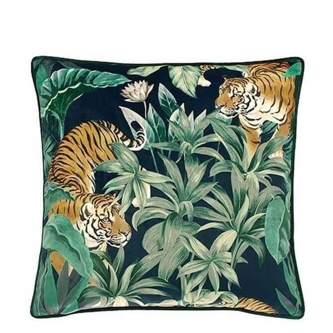 Walton & Co Paradis Tiger Cushion