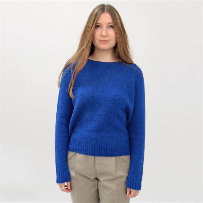Weekend Max Mara Geo Alpaca and Cotton Sweater
