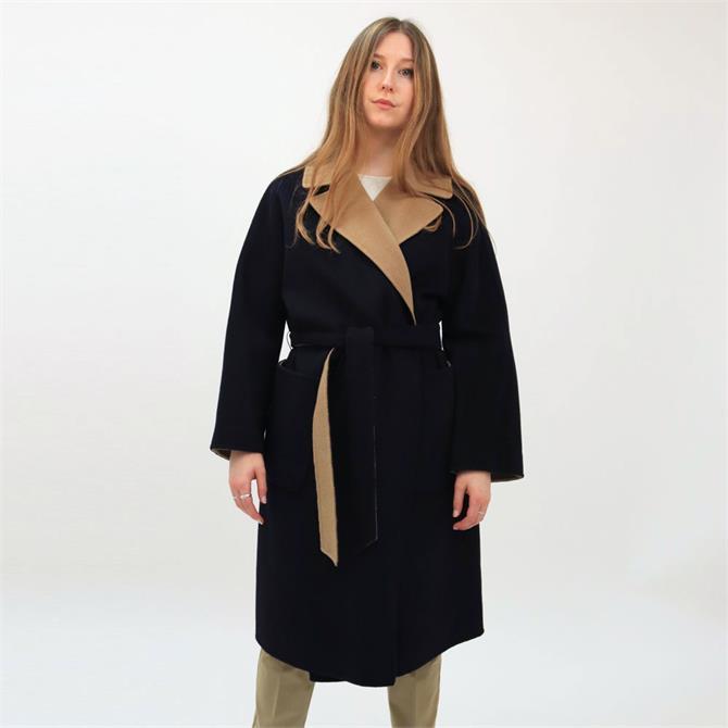 Weekend Max Mara Rail Reversible Wool Coat