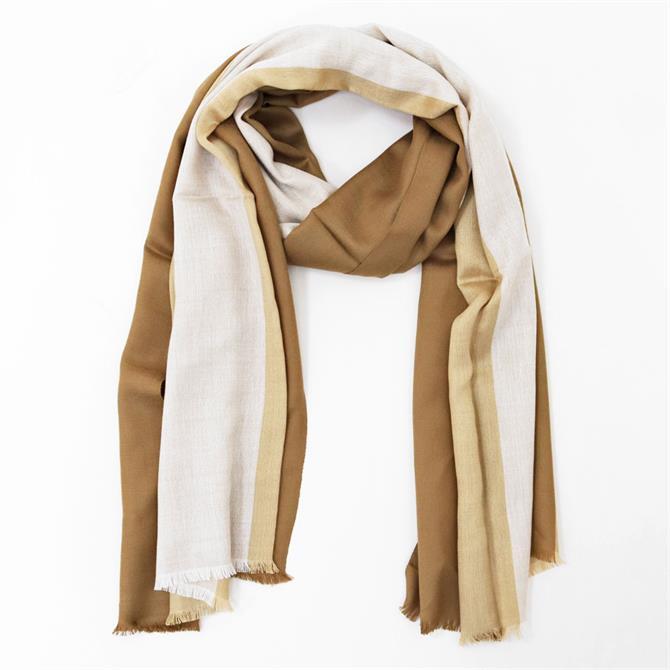 Weekend Max Mara Amedea Wool and Silk Striped Stole