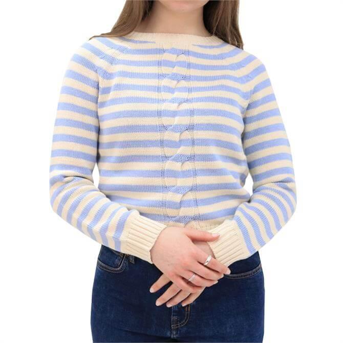 Weekend Max Mara Cincin Striped Cotton Sweater