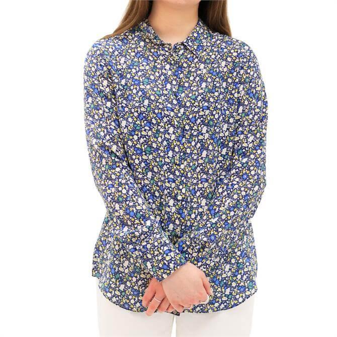 Weekend Max Mara Dany Floral Pure Silk Shirt
