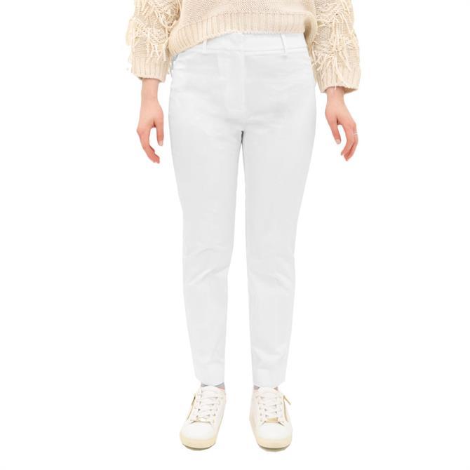 Weekend Max Mara Faraone Slim Cotton Trousers