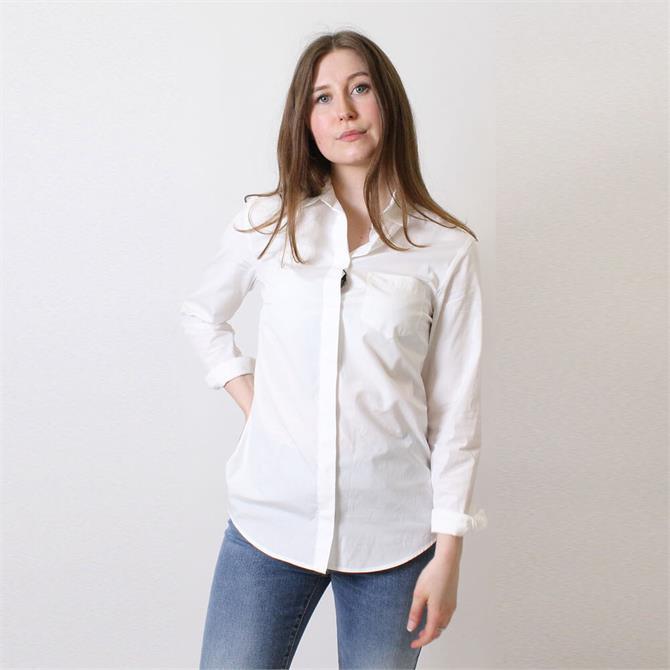Weekend Max Mara Fausta Cotton Poplin Shirt
