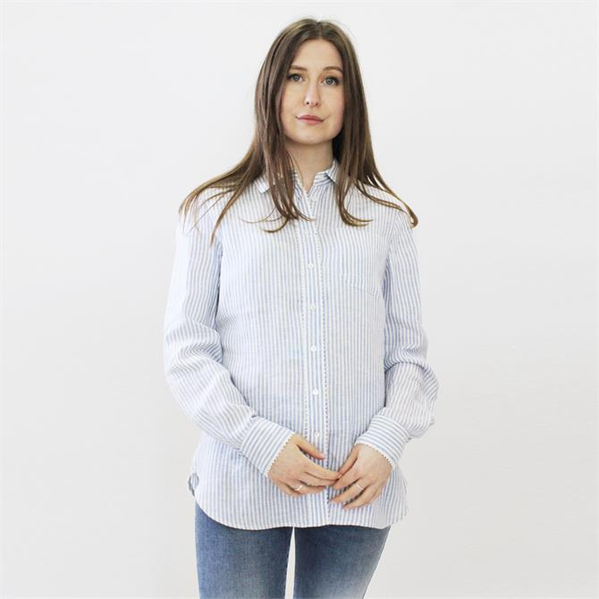 Weekend Max Mara Francis Striped Linen Shirt