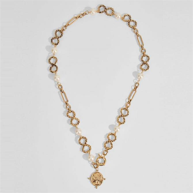 Weekend Max Mara Kelly Chain Pendant Necklace