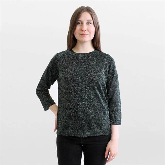 Weekend Max Mara Milva Lurex Yarn Sweater