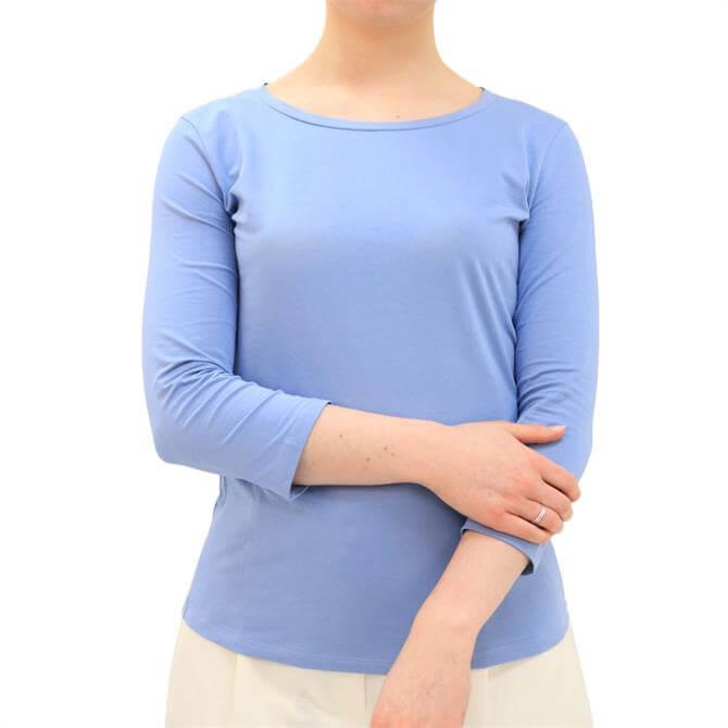 Weekend Max Mara Multia 3/4 Sleeve Cotton T-Shirt