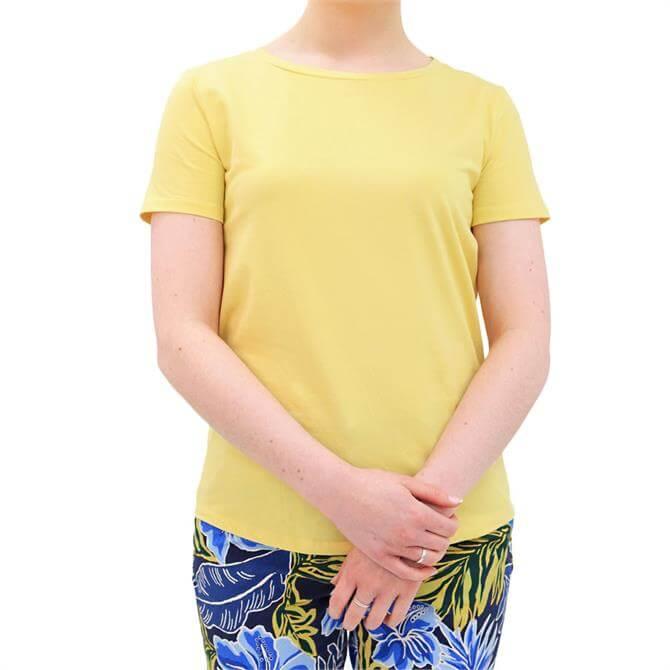 Weekend Max Mara Multib Stretch Cotton Jersey T-Shirt